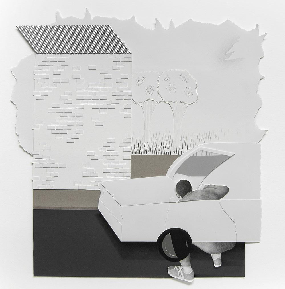 El escondite | 2017 | 45x42cm
