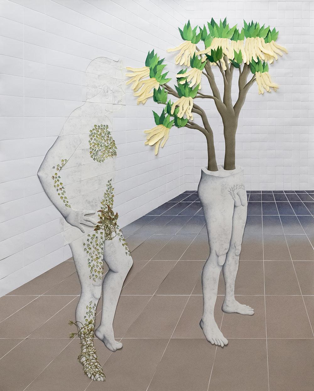 Escenas. el castaño en flor