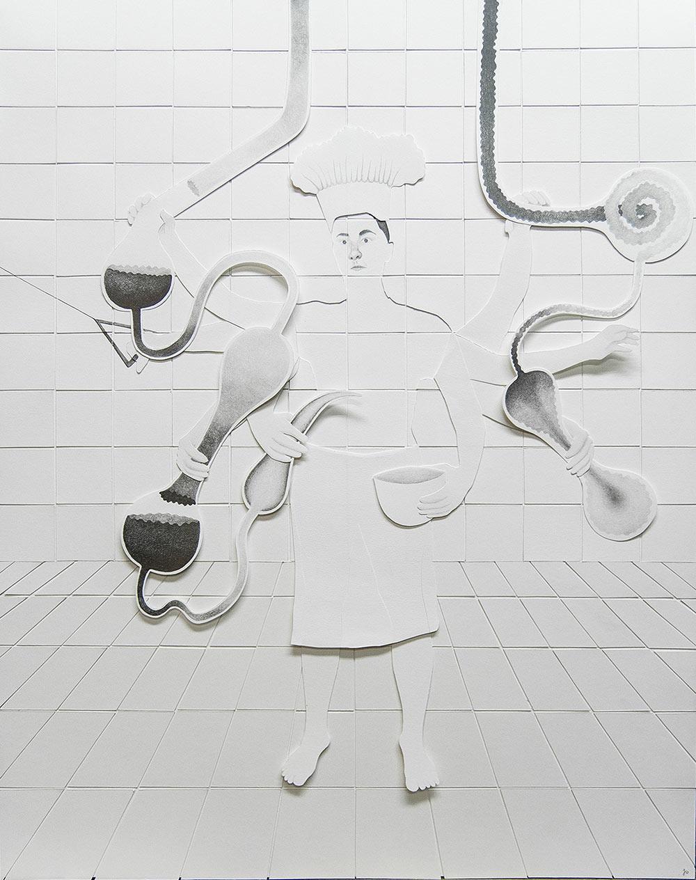 La maga | 2016 | 65x50cm